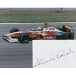 Alessandro Zanardi  genuine signed original autograph photo