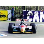 Alessandro Zanardi signed authentic genuine signature photo