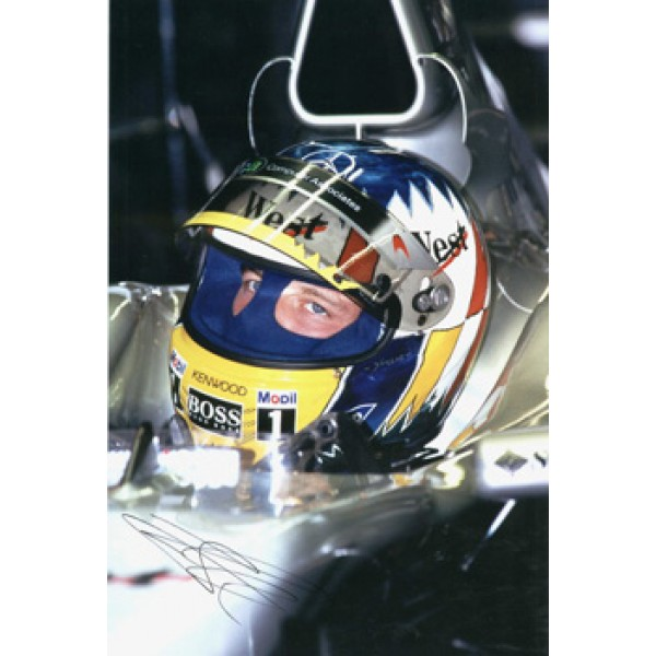 Alex Wurz genuine original authentic signed autograph photo