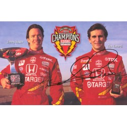 Alex Zanardi / Vasser  genuine signed authentic autograph photo