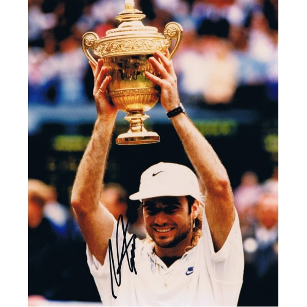 Andre Agassi signed authentic genuine signature