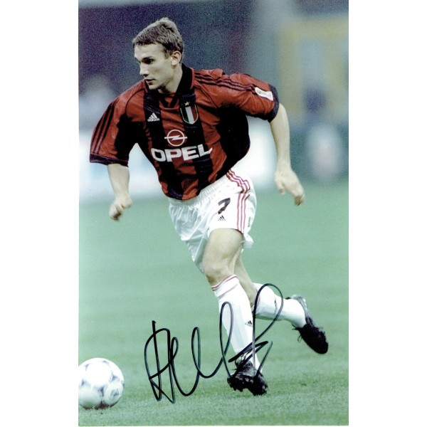 Andre Shevchenko original authentic genuine signed photo