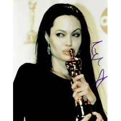 Angelina Jolie signed authentic genuine signature