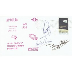 Apollo XI genuine signed autograph signatures