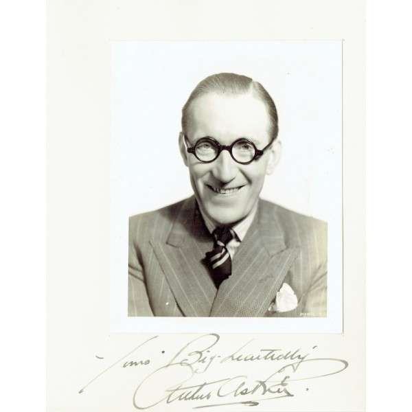 Arthur Askey  original authentic genuine autograph signed photo
