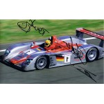 Audi Le Mans Winning Team 2002 signed authentic genuine signature