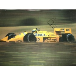 Ayrton Senna  genuine authentic signed autograph signatures poster