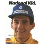 Ayrton Senna genuine authentic signed autograph signatures programme