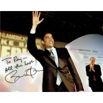 Barack Obama genuine authentic signed autograph signatures photo