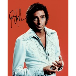 Barry Manilow  original authentic genuine autograph signed photo