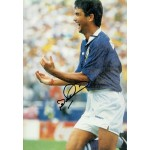 Bebeto original authentic genuine signed photo