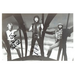 Bee Gees  authentic genuine signed autographs