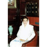 Benazir  Bhutto  authentic genuine signed autographs