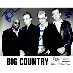 Big Country original authentic genuine signed photo