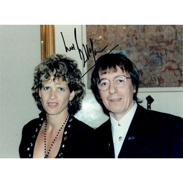 Bill Wyman  original authentic genuine autograph signed photo