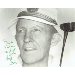 Bing Crosby  original authentic genuine autograph signed photo