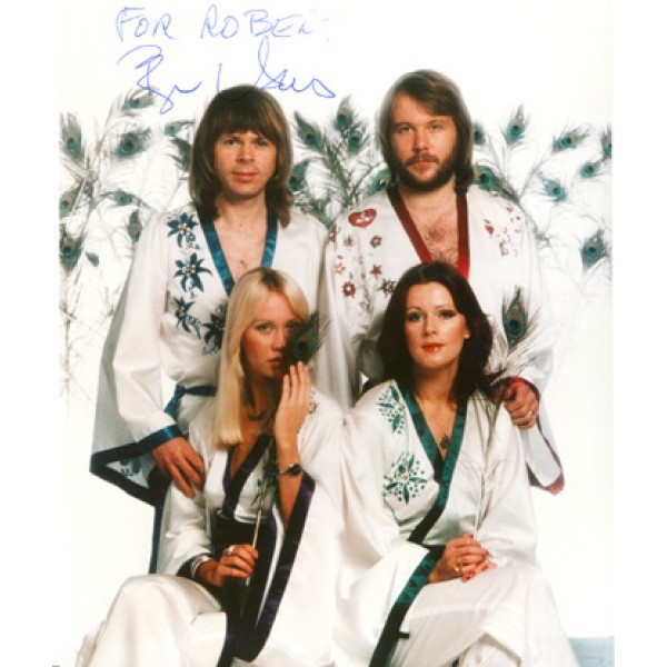 Bjorn Ulvaeus  original authentic genuine autograph signed