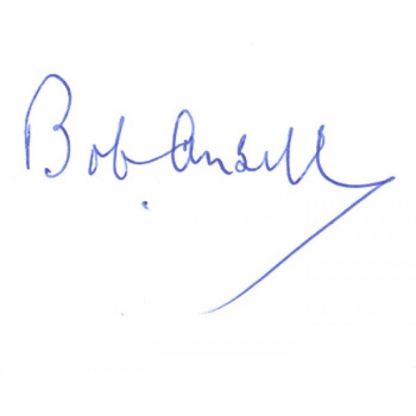 Bob Ansell  genuine signed authentic autograph