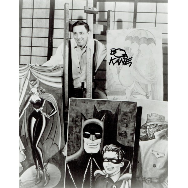 Bob Kane signed authentic genuine signature