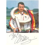 Bob Wollek genuine original authentic signed autograph