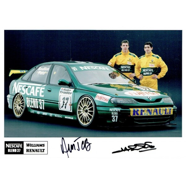 Boullion & Plato. genuine original authentic signed autograph photo