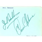 Brabham / Hulme  genuine original authentic signed autograph