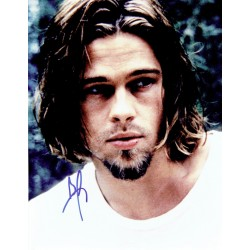 Brad Pitt original authentic genuine signed photo