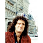 Brian May  original authentic genuine autograph signed photo