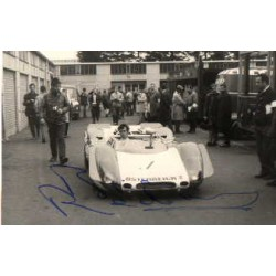 Brian Redman original authentic genuine signed autograph photo