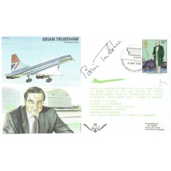 Brian Trubshaw authentic signed genuine signature