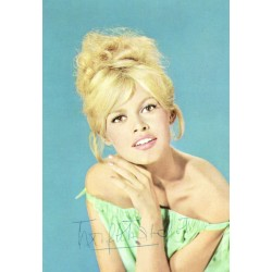 Brigitte Bardot original authentic genuine signed photo