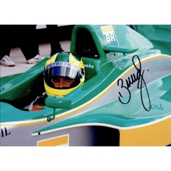 Bruno Junqueira genuine original authentic signed autograph photo