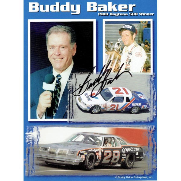 Buddy Baker genuine original authentic signed autograph photo