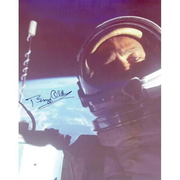 Buzz Aldrin original authentic genuine signed book
