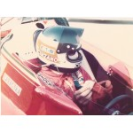 Carlos Reutemann original authentic genuine signed photo
