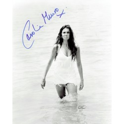 Caroline Munro original authentic genuine signed photo