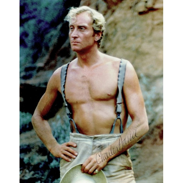 Charles Dance  authentic genuine autograph signed photo