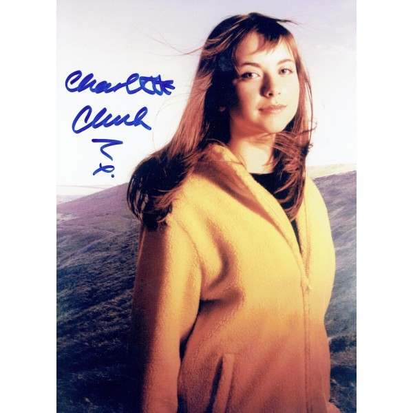 Charlotte Church  original authentic genuine autograph signed photo