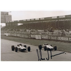 Chris Amon Ferrari F1 genuine signed authentic signature photo