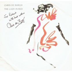 Chris De Burgh  original authentic genuine autograph signed photo