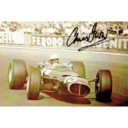 Chris Irwin signed authentic genuine signature photo