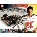 Christian Fittipaldi genuine original authentic signed autograph photo