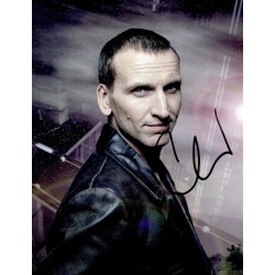 Christopher Ecclestone original authentic genuine signed photo