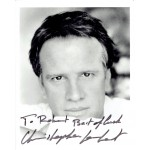 Christopher Lambert  authentic genuine autograph signed photo