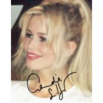 Claudia Schiffer authentic signed genuine signature