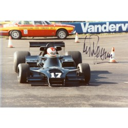 Clay Regazzoni genuine original signed autograph photo