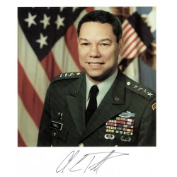 Colin L Powell  original authentic genuine autograph signed photo