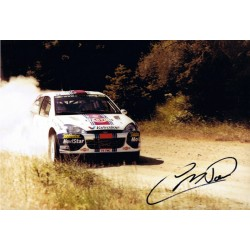 Colin McRae  authentic genuine signed autographs