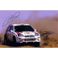 Colin McRae  authentic genuine signed autographs photo