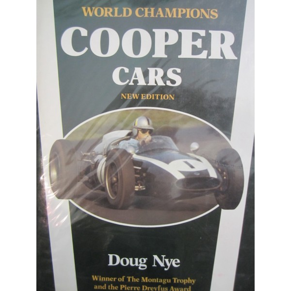 Cooper Cars Doug Nye (Signed by John Cooper)